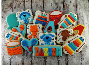 birthday cookies custom cookies