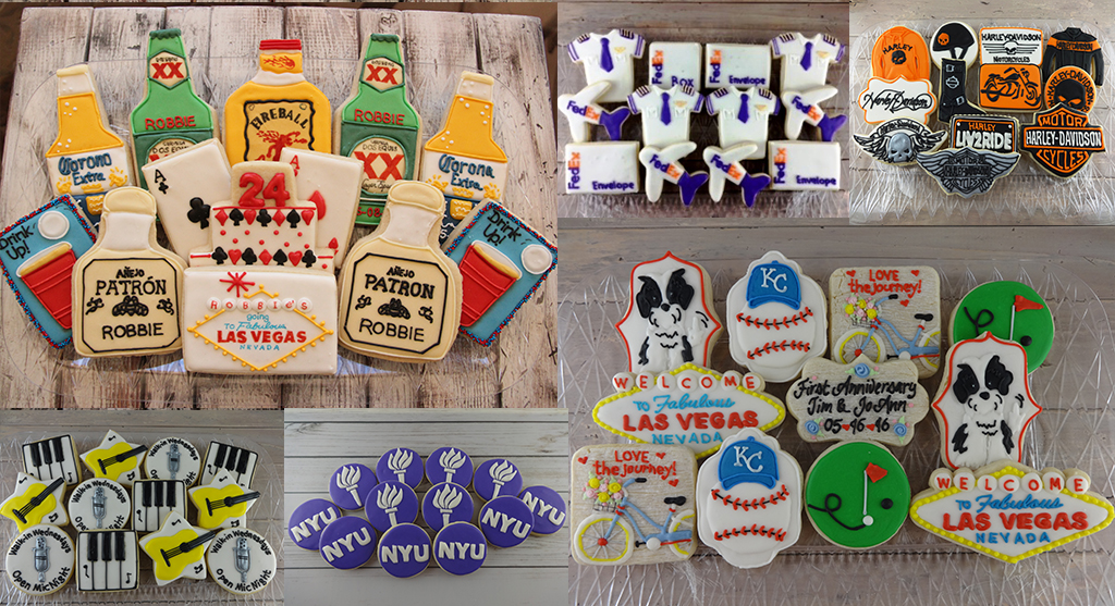 brand and logo cookies