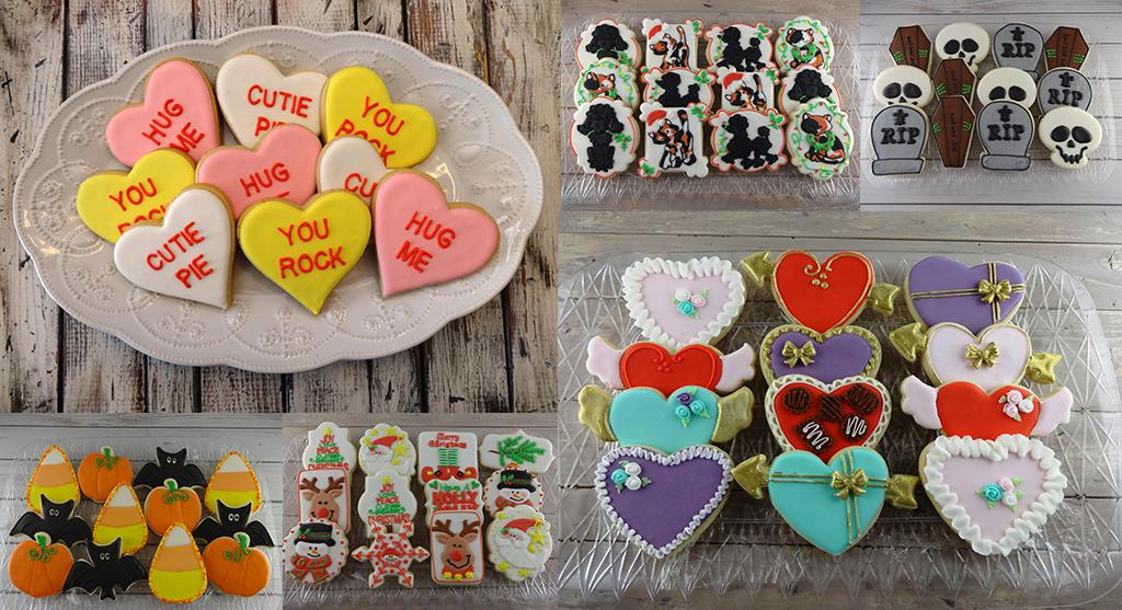 custom cookies for holidays