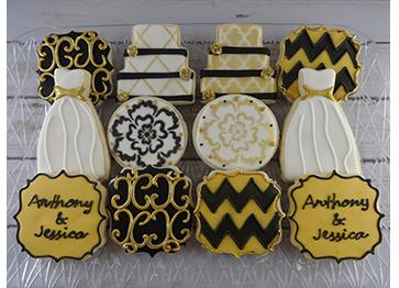 wedding cookies custom cookies
